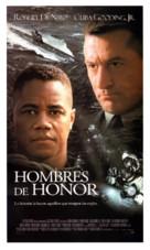Men Of Honor - Spanish Movie Poster (xs thumbnail)