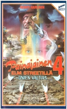 A Nightmare on Elm Street 4: The Dream Master - Finnish VHS movie cover (xs thumbnail)
