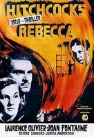 Rebecca - Swedish Movie Poster (xs thumbnail)