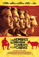 The Men Who Stare at Goats - Spanish Movie Poster (xs thumbnail)