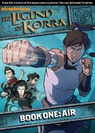 """The Legend of Korra"" - DVD movie cover (xs thumbnail)"