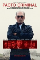 Black Mass - Argentinian Movie Poster (xs thumbnail)