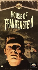 House of Frankenstein - VHS movie cover (xs thumbnail)