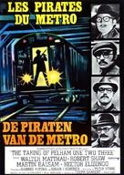 The Taking of Pelham One Two Three - Belgian Movie Poster (xs thumbnail)
