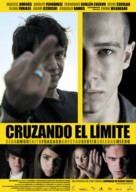 Cruzando el límite - Spanish Movie Poster (xs thumbnail)