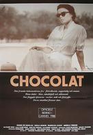 Chocolat - Swedish Movie Poster (xs thumbnail)