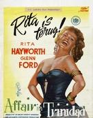 Affair in Trinidad - Dutch Movie Poster (xs thumbnail)