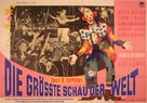The Greatest Show on Earth - German Movie Poster (xs thumbnail)