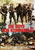 The Boys in Company C - German Movie Poster (xs thumbnail)