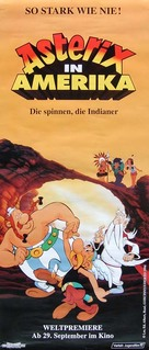 Asterix in Amerika - German Movie Poster (xs thumbnail)