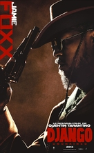 Django Unchained - French Movie Poster (xs thumbnail)