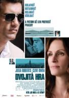 Duplicity - Slovak Movie Poster (xs thumbnail)
