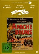 Apache Drums - German DVD cover (xs thumbnail)