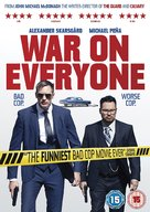 War on Everyone - British Movie Cover (xs thumbnail)