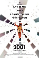 2001: A Space Odyssey - French Re-release movie poster (xs thumbnail)