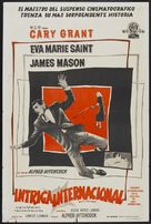 North by Northwest - Argentinian Movie Poster (xs thumbnail)