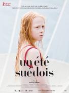 Flickan - French Movie Poster (xs thumbnail)