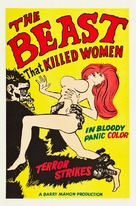 The Beast That Killed Women - Movie Poster (xs thumbnail)