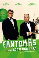 Fantômas contre Scotland Yard - French Movie Cover (xs thumbnail)