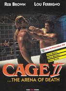 Cage II - German Movie Poster (xs thumbnail)
