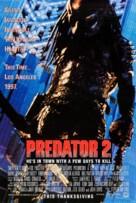 Predator 2 - Advance poster (xs thumbnail)