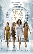 Sex and the City 2 - Dutch Movie Poster (xs thumbnail)