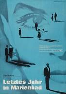 L'année dernière à Marienbad - German Movie Poster (xs thumbnail)