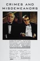 Crimes and Misdemeanors - Movie Poster (xs thumbnail)