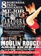 Moulin Rouge - Chilean Movie Poster (xs thumbnail)