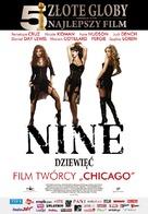 Nine - Polish Movie Poster (xs thumbnail)