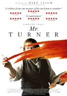 Mr. Turner - Belgian Movie Poster (xs thumbnail)