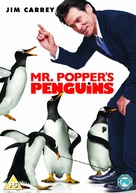Mr. Popper's Penguins - British DVD movie cover (xs thumbnail)