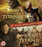 Clash of the Titans - British Blu-Ray movie cover (xs thumbnail)