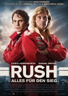 Rush - German Movie Poster (xs thumbnail)