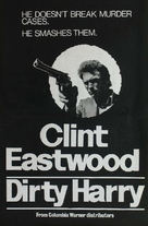 Dirty Harry - New Zealand Movie Poster (xs thumbnail)