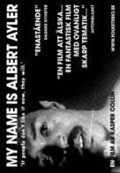 My Name Is Albert Ayler - Swedish poster (xs thumbnail)