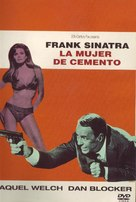 Lady in Cement - Spanish DVD movie cover (xs thumbnail)