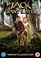 Jack the Giant Slayer - British DVD movie cover (xs thumbnail)