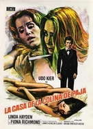 Exposé - Spanish Movie Poster (xs thumbnail)