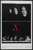 Frankenstein Must Be Destroyed - Movie Poster (xs thumbnail)
