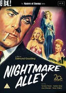 Nightmare Alley - British DVD cover (xs thumbnail)