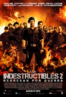 The Expendables 2 - Argentinian Movie Poster (xs thumbnail)