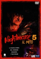 A Nightmare on Elm Street: The Dream Child - Italian DVD movie cover (xs thumbnail)
