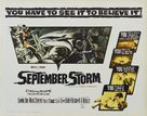 September Storm - Movie Poster (xs thumbnail)