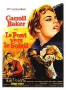Bridge to the Sun - French Movie Poster (xs thumbnail)