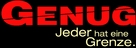 Enough - German Logo (xs thumbnail)