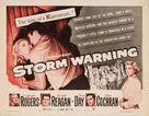 Storm Warning - Movie Poster (xs thumbnail)