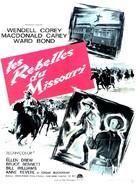 The Great Missouri Raid - French Movie Poster (xs thumbnail)
