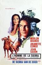 The Appaloosa - Belgian Movie Poster (xs thumbnail)
