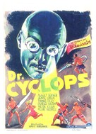 Dr. Cyclops - Belgian Movie Poster (xs thumbnail)